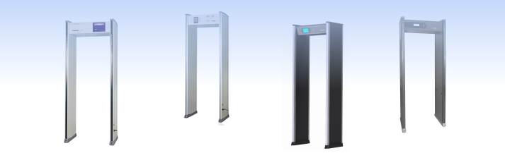 Metal detectors, walk through metal detectors